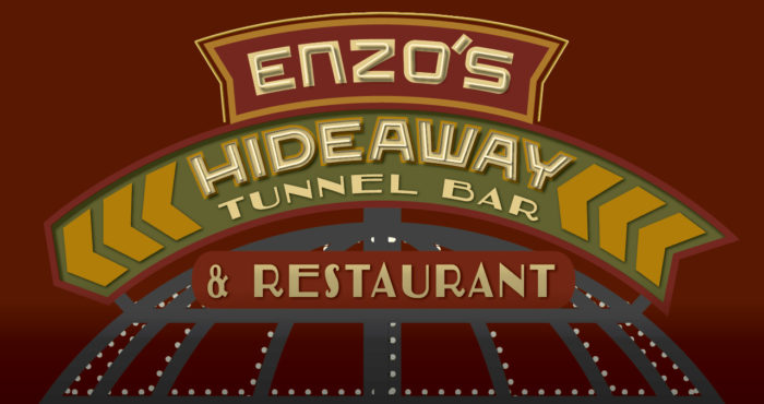Menus Now Available For Enzo's Hideaway Tunnel Bar & Restaurant at Disney Springs 1