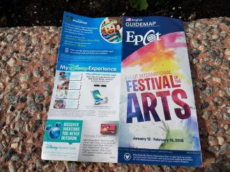 Festival of the Arts Guidemap Front