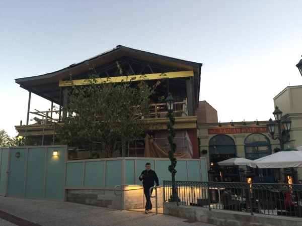 Photo Updates: Wine Bar George Construction at Disney Springs 3