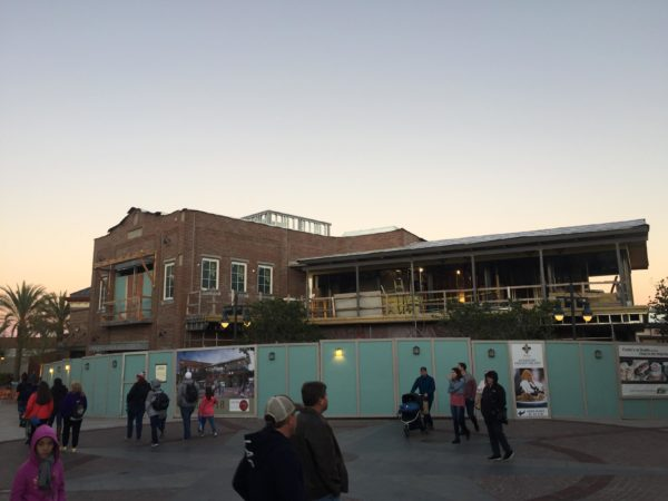 Photo Updates: Wine Bar George Construction at Disney Springs 4