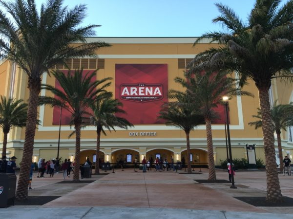 The Opening of The Arena at ESPN Wide World of Sports Complex 1