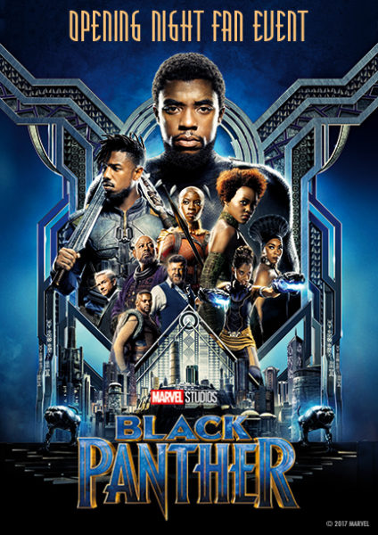 Disney's El Capitan Theatre in Hollywood to Offer Special Black Panther Screening Event on February 15th. 2