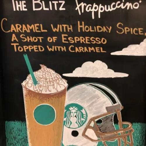 Starbucks Blitz Frappuccino