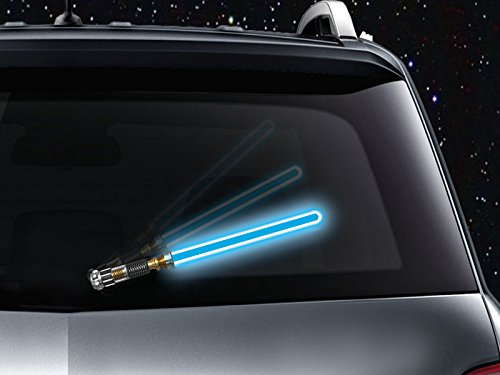 Lightsaber Windshield Wipers, Because Why Not Use the Force? 2