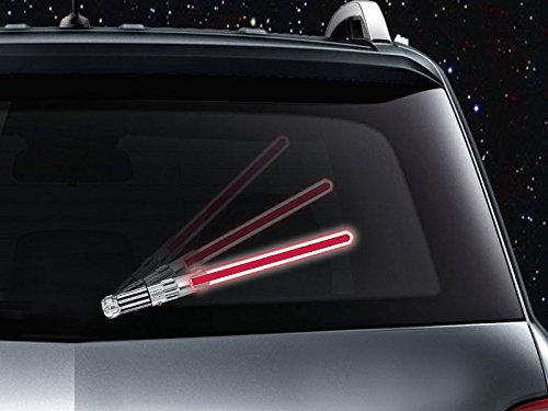 Lightsaber Windshield Wipers