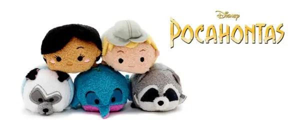 New Tsum Tsum Pocahontas Collection Coming Soon 1