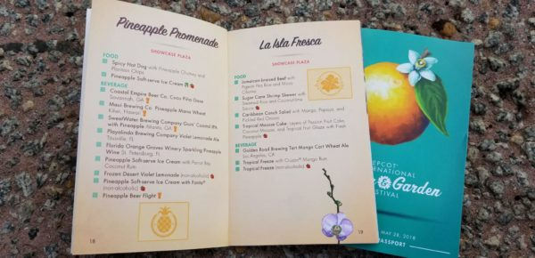 Your Passport to the Epcot Flower & Garden Festival 11