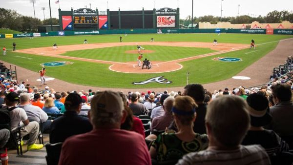Braves Spring Training games