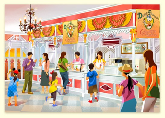 Tokyo Disney Resort to Open Up New Chocolate Crunch Shop to Celebrate 35th Anniversary 2