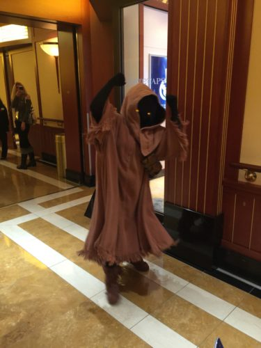 Star Wars Character Meets during Star Wars Day at Sea – Disney Cruise Line 3