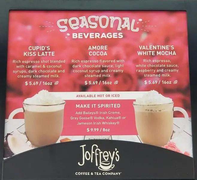 Joffrey's Seasonal Drinks