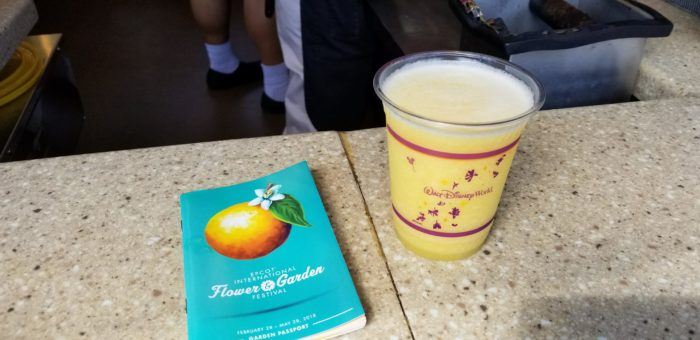 2018 Epcot International Flower and Garden Festival Food Booths and Menus 90