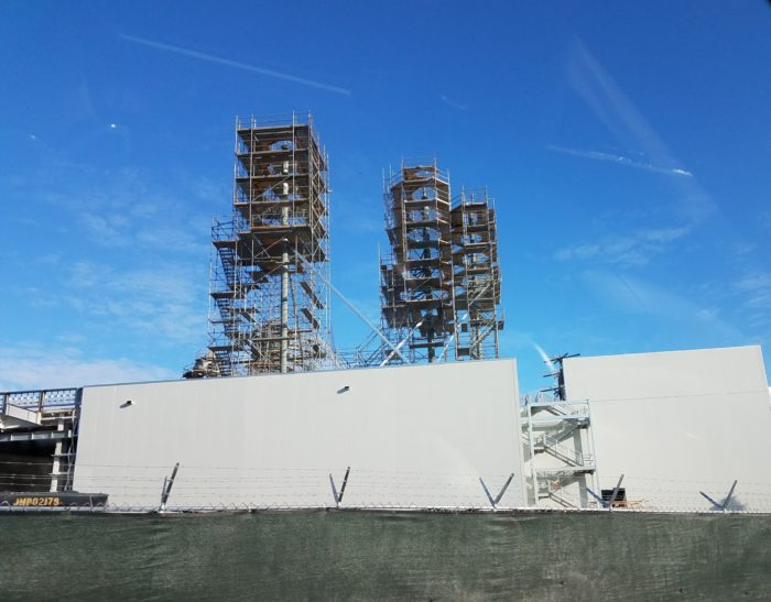 PHOTO: Star Wars: Galaxy's Edge Construction Progress At Hollywood Studios 1