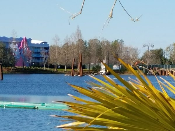 Disney Skyliner Construction Pictures from Pop Century Area 17