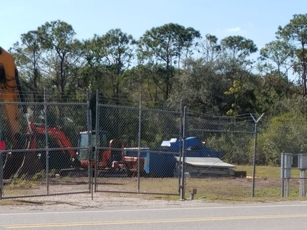Photos: Disney is Clearing Trees to Begin Tron Construction 4