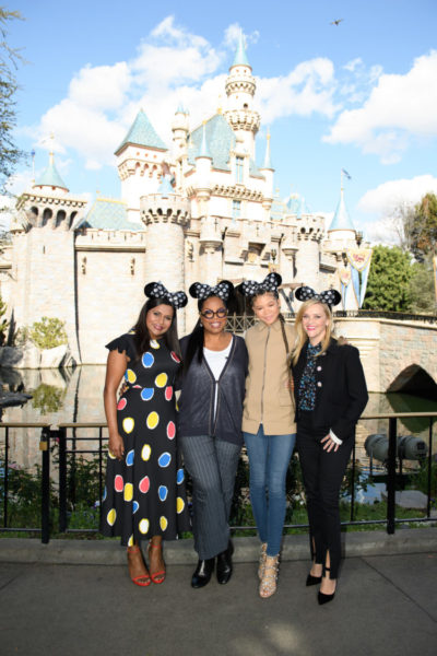 The Cast From 'A Wrinkle In Time' Surprised Guests At Disneyland 2