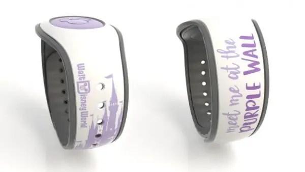 Purple Wall MagicBand