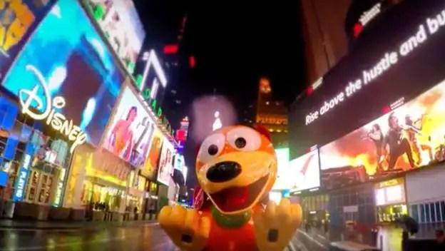 Slinky Dog Times Square