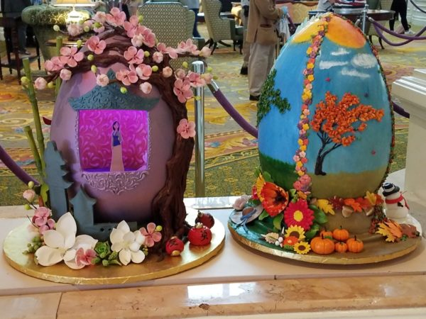 Grand Floridian Easter Egg Display Returns March 24th 6