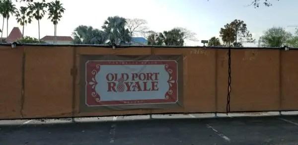 Construction at Disney's Caribbean Beach Resort Update 7
