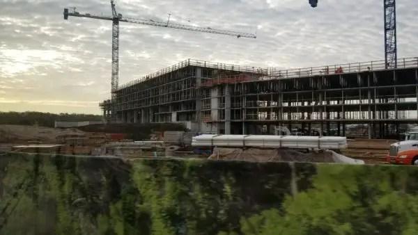 Construction at Disney's Caribbean Beach Resort Update 1
