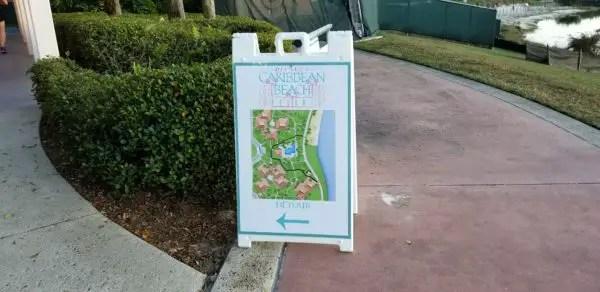 Construction at Disney's Caribbean Beach Resort Update 4