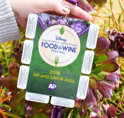 2018 Food and Wine Festival Sip and Savor Pass for Annual Passholders 1