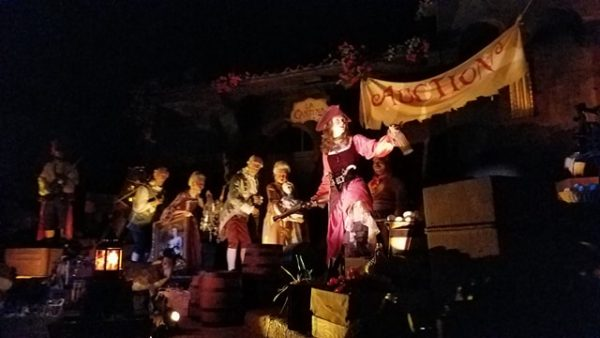 Pirates of the Caribbean Reopens Today with New Auction Scene 5