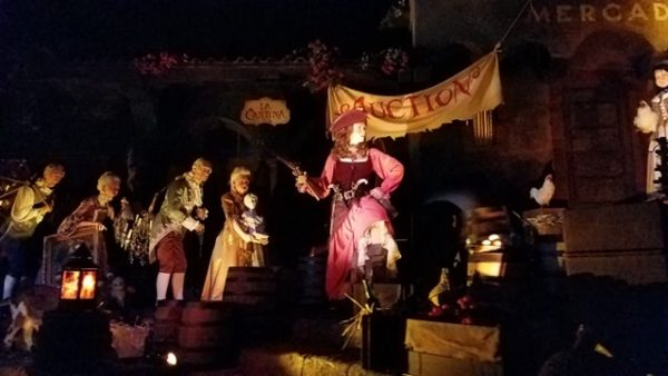 Pirates of the Caribbean Reopens Today with New Auction Scene 4