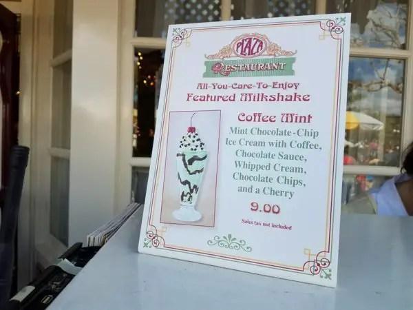 Coffee Mint Milkshake