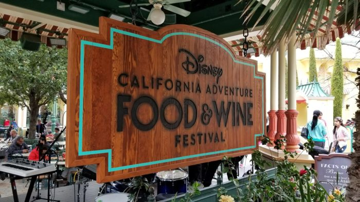 Food Booths at Disney California Adventire Food & Wine Festival 1
