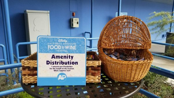 Food and Wine Festival Passholder Area at Disney's California Adventure 8