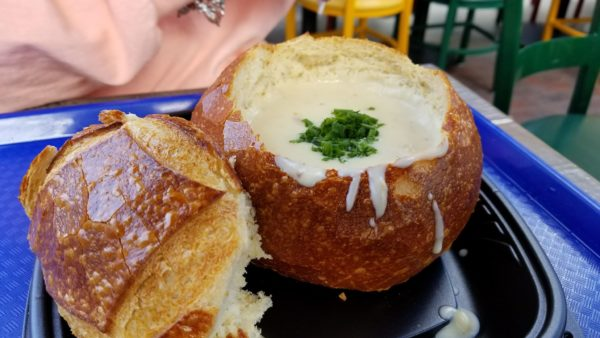 Loaded Baked Potato Soup at Pacific Wharf Cafe 1