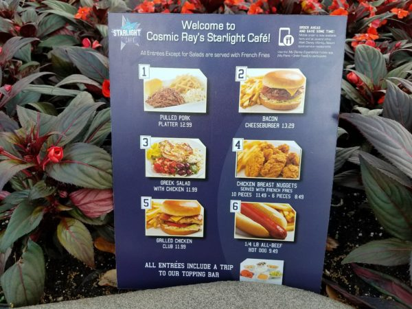 Sonny Eclipse Dessert And New Menus Debut At Cosmic Ray's In The Magic Kingdom 2