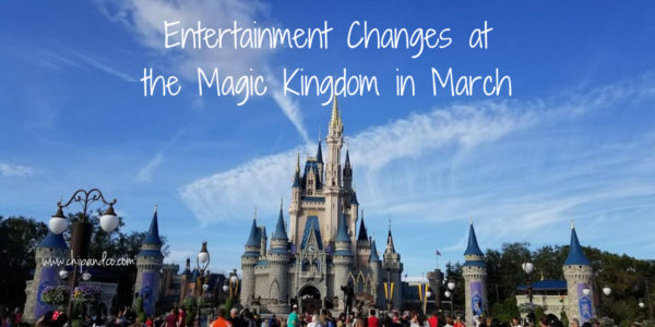 Entertainment Changes Magic Kingdom
