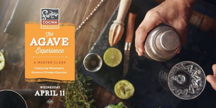 Frontera Cocina To Offer Agave Master Class on April 11th 1
