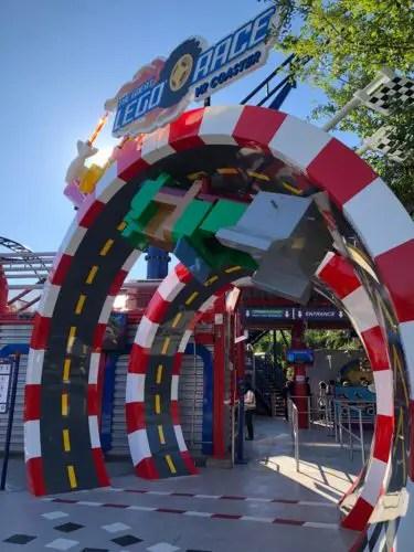 NEW! The Great LEGO Race VR Coaster - LEGOLAND Florida 2