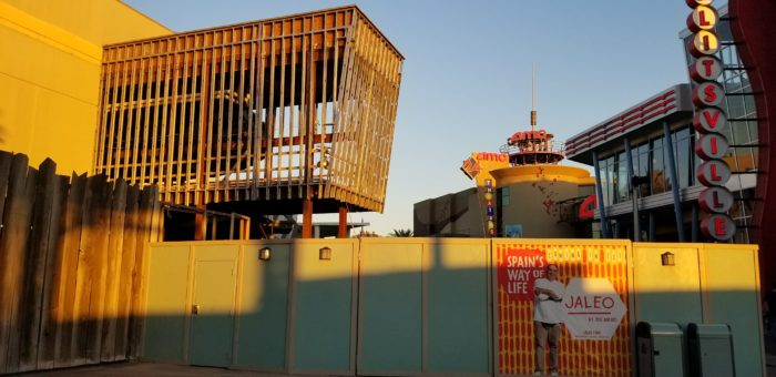 Construction Continues to Progress at Spanish Restaurant Jaleo in Disney Springs 2