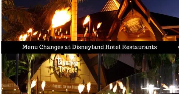 Menu Changes at Tangaroa Terrace and Trader Sam's at Disneyland Hotel 1