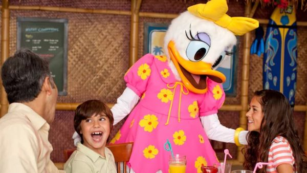 New Character Dining at Disneyland Resort Hotels