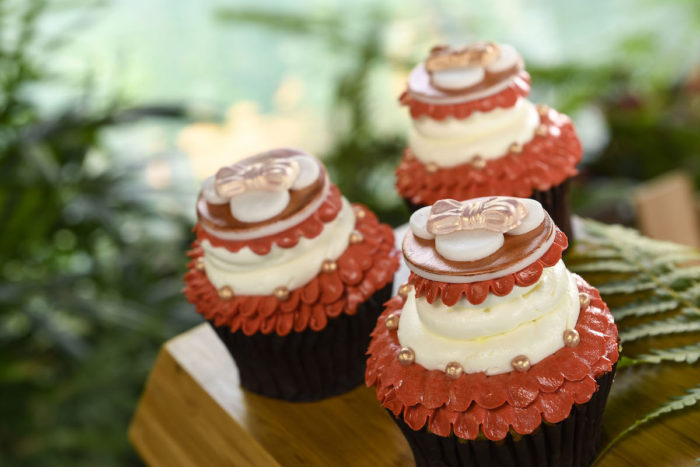 Charming Rose Gold Cupcakes Now Available at Contempo Cafe 1