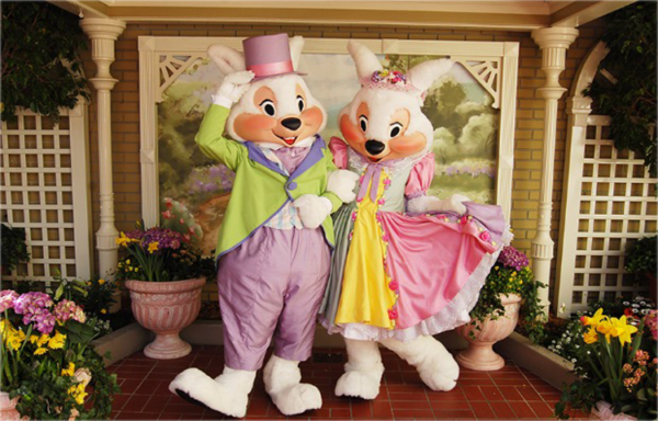 Easter Bunny at Epcot
