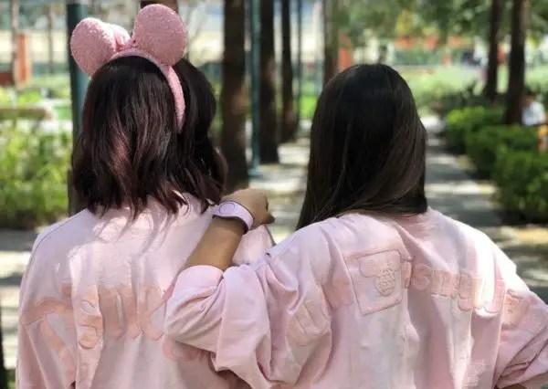 Millennial Pink Minnie Ears and Spirit Jerseys