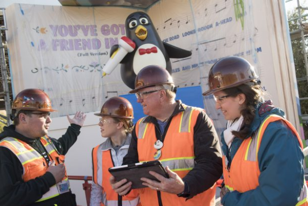 Wheezy the Penguin Has Arrived at Toy Story Land in Hollywood Studios 1