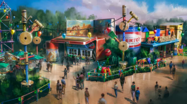 Wheezy the Penguin Has Arrived at Toy Story Land in Hollywood Studios 6