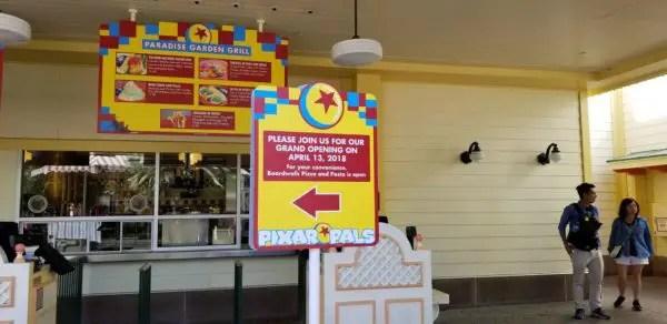Celebrate Pixar Fest at Paradise Garden Grill at California Adventure 2