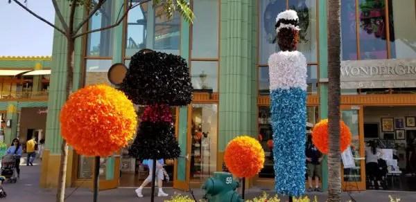 Artistic Topiaries Brighten Up Pixar Fest 4