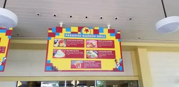 Celebrate Pixar Fest at Paradise Garden Grill at California Adventure 1