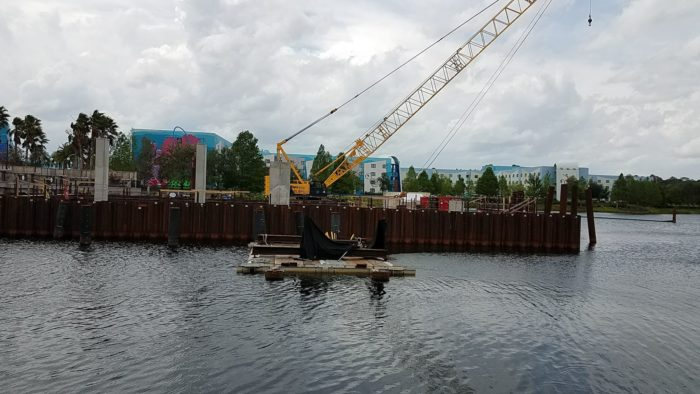 PHOTOS: Skyliner Concept Art and Construction Update For Art of Animation and Pop Century Resorts 5