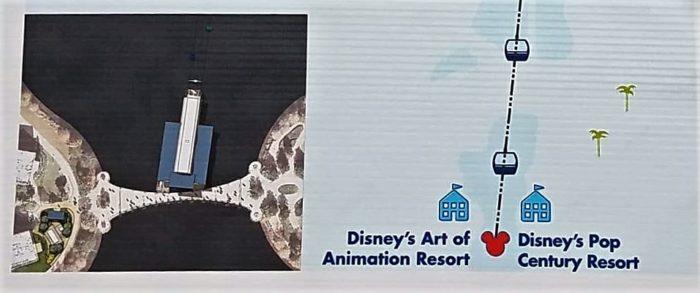 PHOTOS: Skyliner Concept Art and Construction Update For Art of Animation and Pop Century Resorts 3